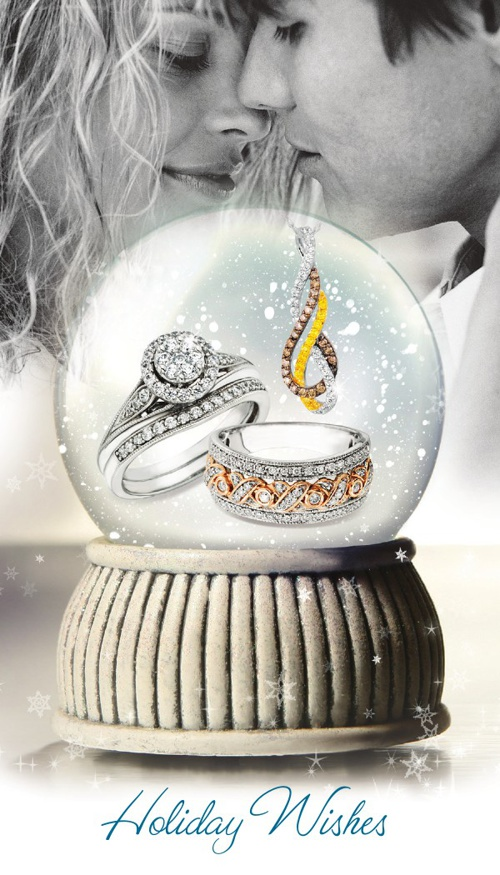 The Jewelry Shop Holiday Wishes Flyer