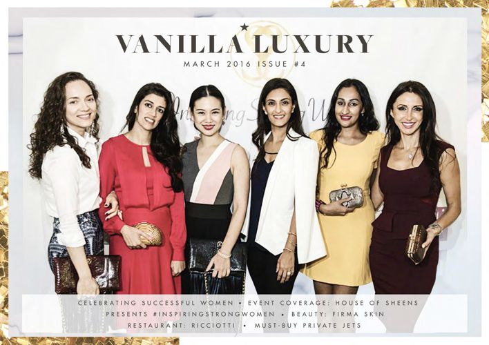 Vanilla Luxury - March 2016