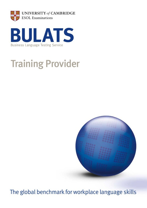 BULATS - Training Providers