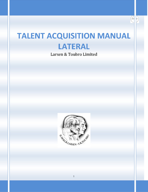 Talent Acquisition Manual