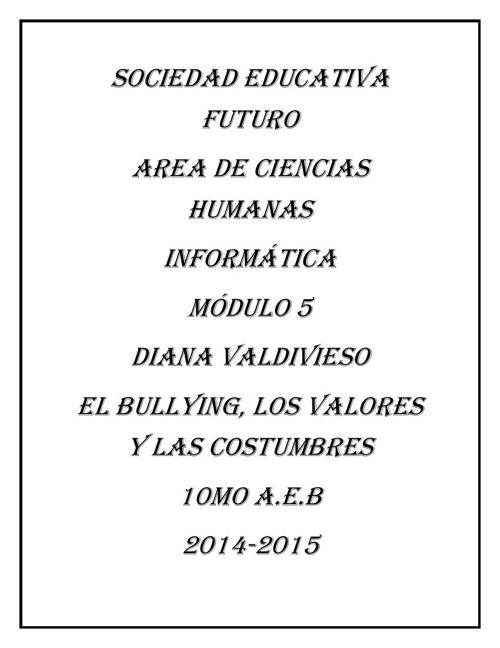 SOCIEDAD EDUCATIVA  FUTURO