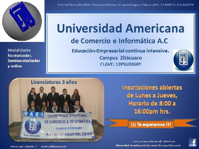 Universidad Americana de Comercio e Informática