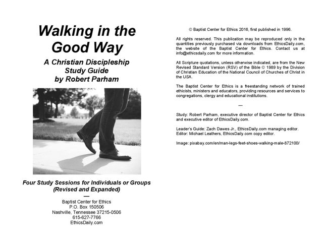 Walking in the Good Way - Student Guide Preview