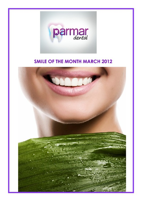 Smile Of The Month March 2012