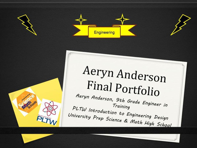 Aeryn Anderson Portfolio