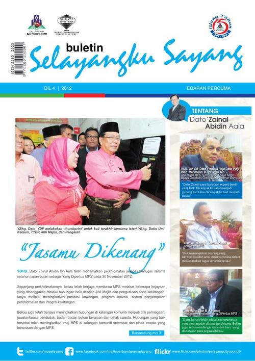 Selayangku Sayang Bil 4/2012