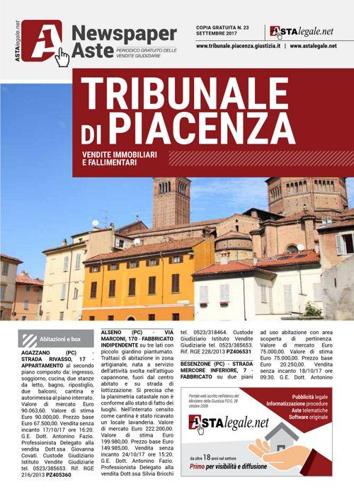 Piacenza settembre 2017