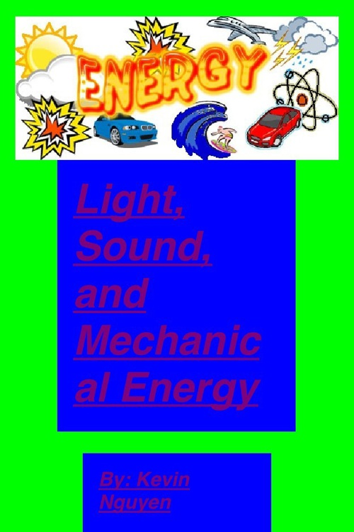 Bunetto light sound and mechanical energy-2