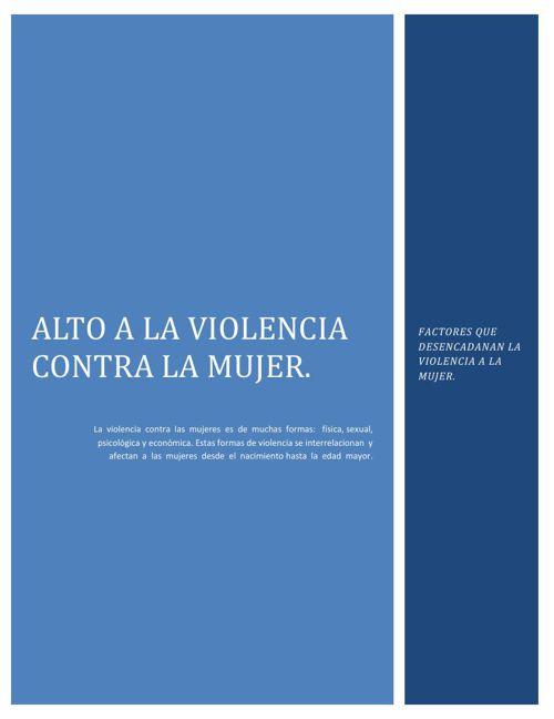 La violencia contra la mujer por parte de su cónyuge está susten