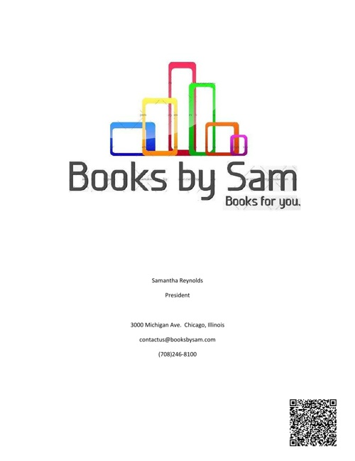 Books by Sam Business Plan