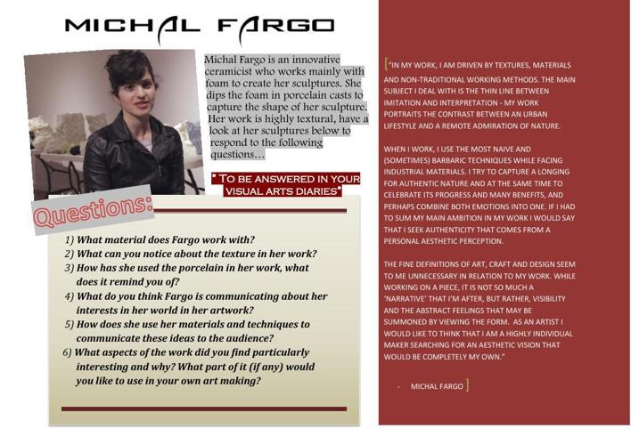 GROUP 1- Michal Fargo