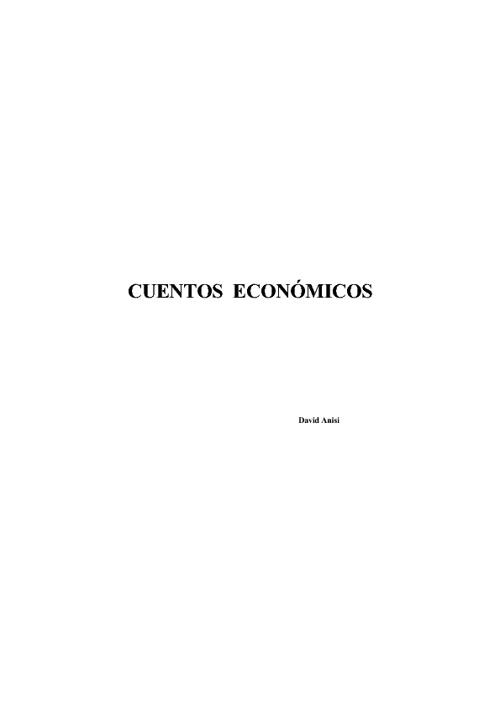 Cuentos Economicos