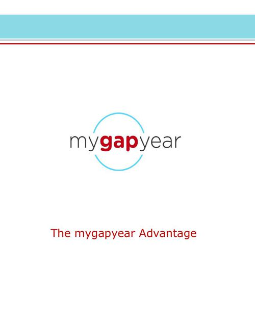 2015 e-mygapyear Information Package