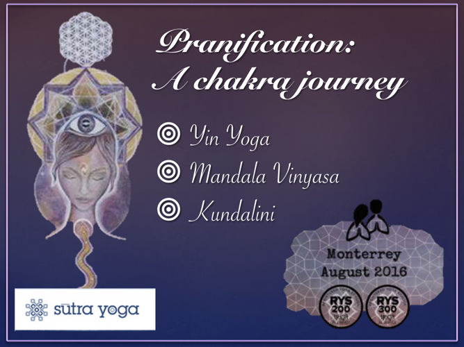 Pranification - 55 Hours Yoga Teacher Training Monterrey