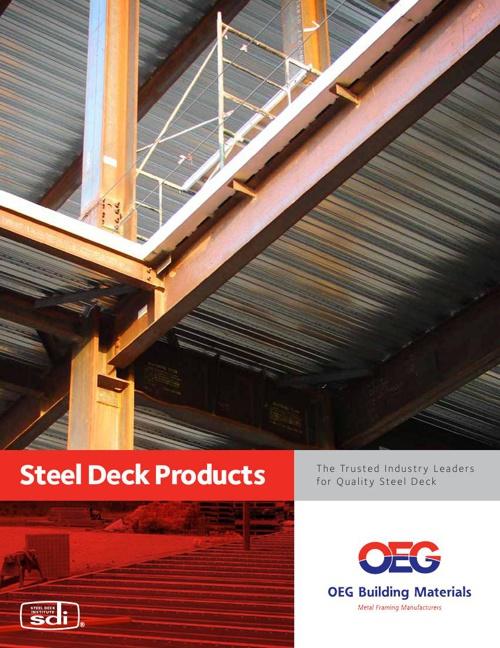 OEG Steel Deck Catalog