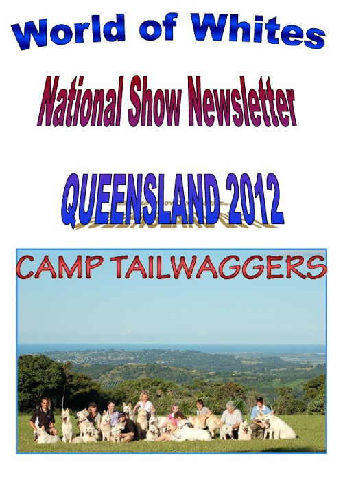 pre-National Show 2012 newsletter
