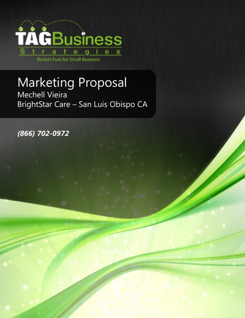 Marketing Proposal Brightstar Care San Luis Obispo CA