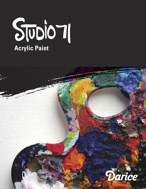 Studio 71 Acrylic Paints