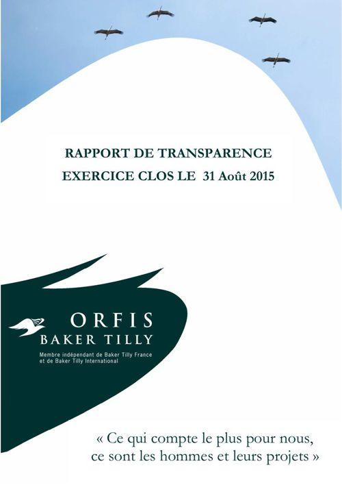 V1 Rapport de transparence 2015-08 MEL 30112015