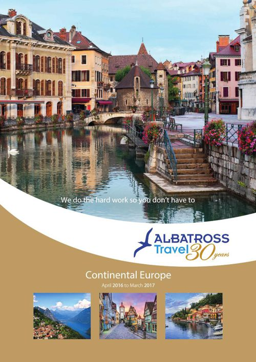 Albatross Travel 16 - 17 Continental Brochure