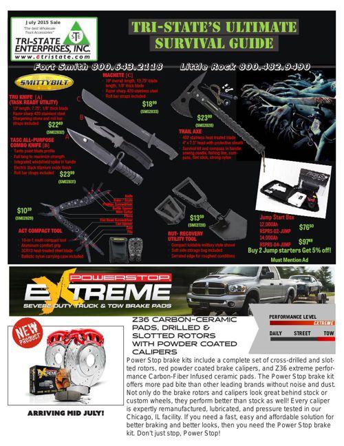 July 2015 Sales Flyer