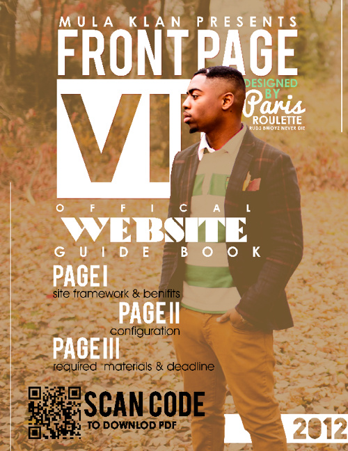 Front Page VII WEBSITE GUIDE BOOK
