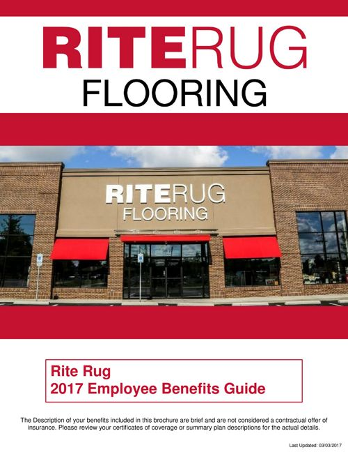 RiteRug Employee Benefits Guide 2017