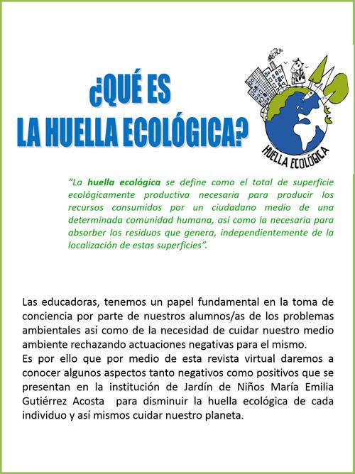 Observaciones ecológico-ambientales