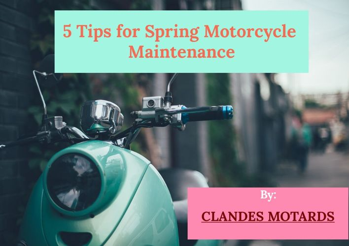 Spring Motorcycle Maintenance Tips