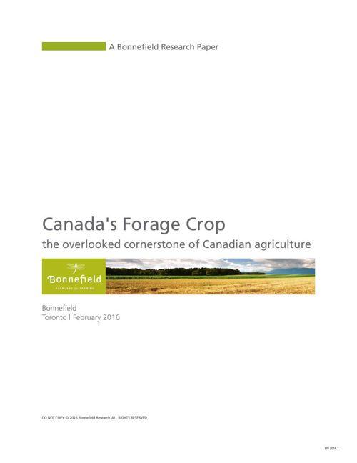 Canada's Forage Crop