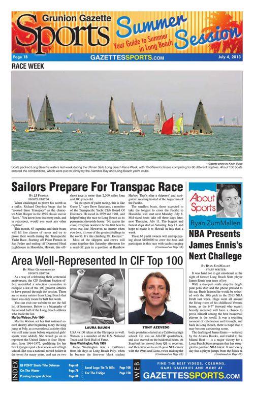 Gazette Sports | July 4, 2013