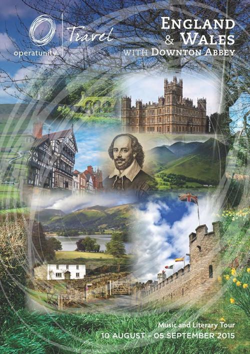2015 England Wales Itinerary