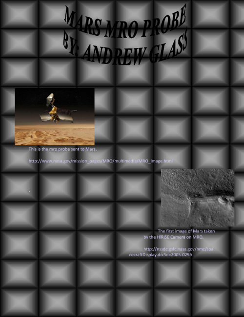 Mars MRO Probe