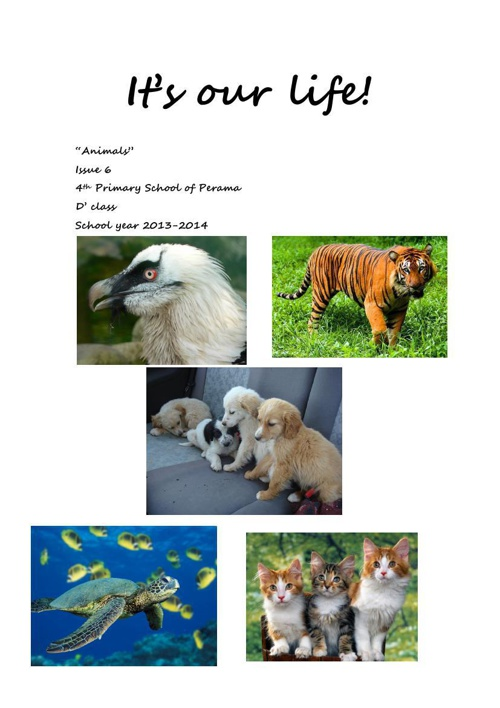 """Animals"" issue 6"