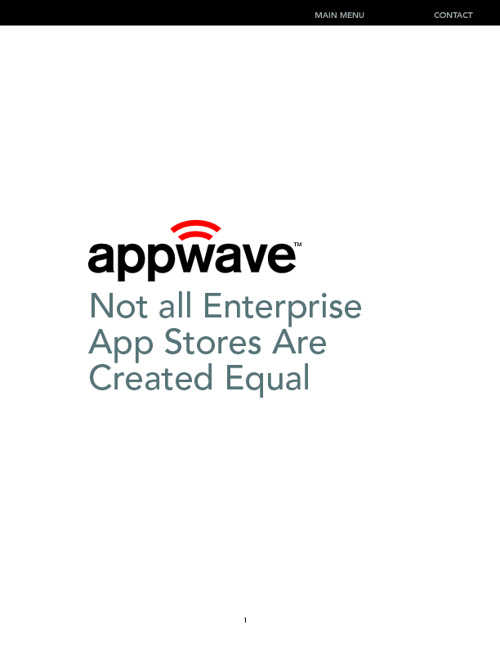 AppWave vertical test