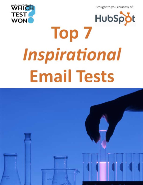 Top 7 inspirational email tests ebook