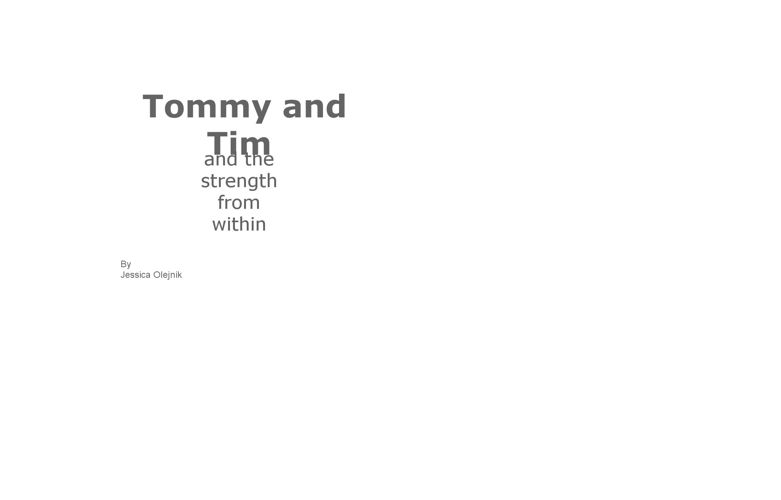 Tommy and Tim
