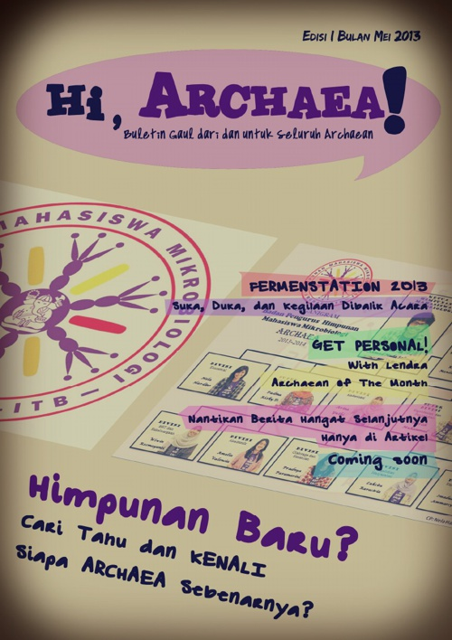 Hi, ARCHAEA! (Edisi I)