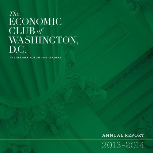 Economic Club 2013-2014 Annual Report