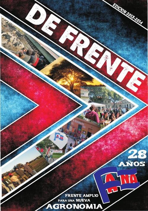 DeFRENTE 2013 - Una PUBLICACIÓN del FANA