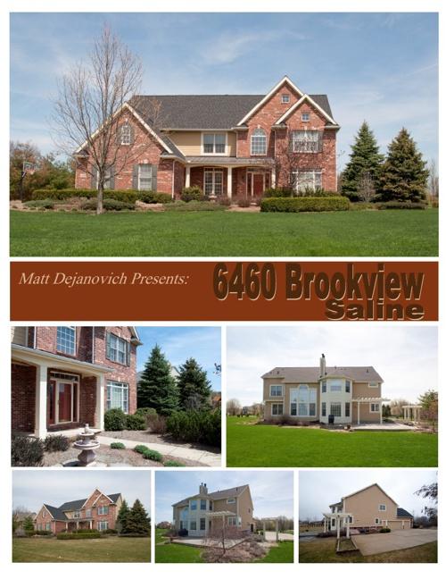 6460 BrookviewDrive, Saline,MI
