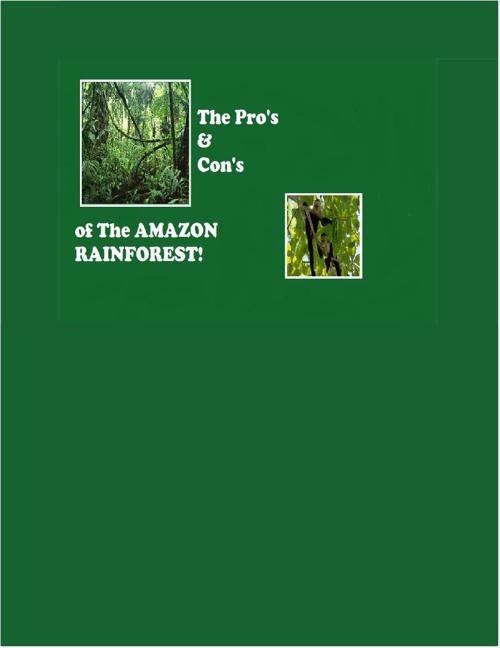 Amazon Rainforest Pros and Cons!