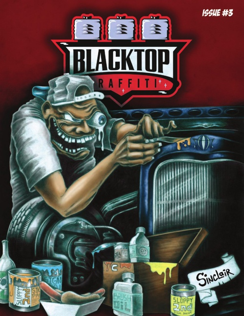 Blacktop Graffiti Magazine #3