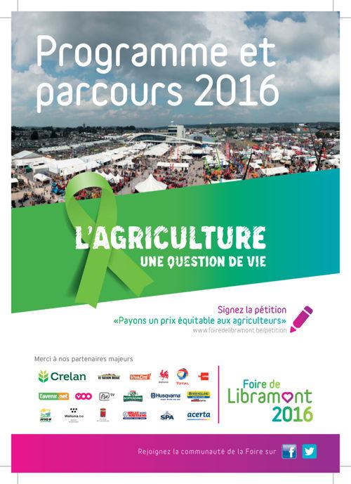 Foire de Libramont - Programme FR