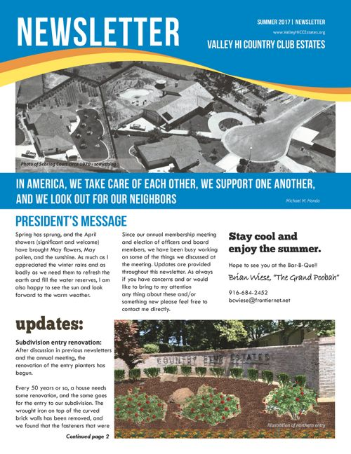 0517_Newsletter Valley Hi Country Club Estates HOA