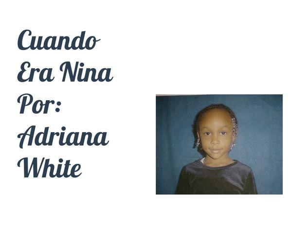 Cuando Era Nina