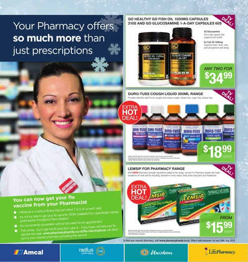 Pharmacybrands Catalogue July 2013