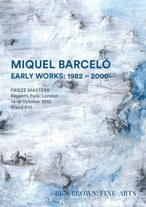 Miquel Barceló: Early Works
