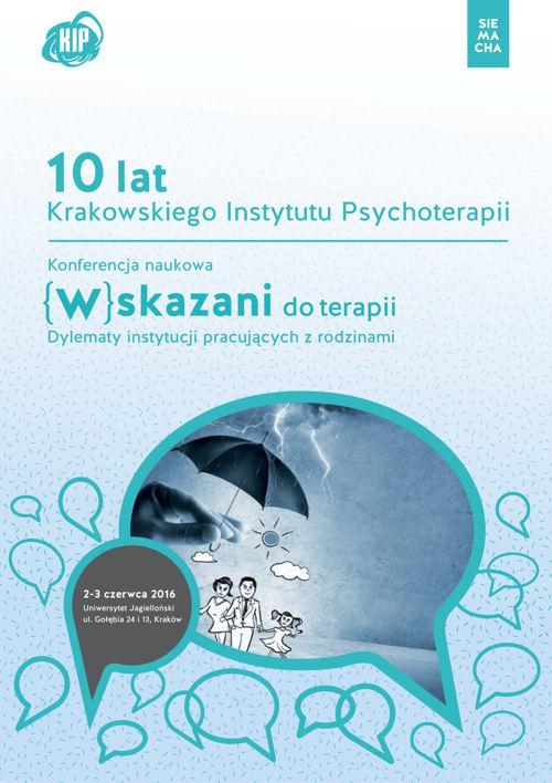 (W)skazani do terapii broszura konferencyjna KIP