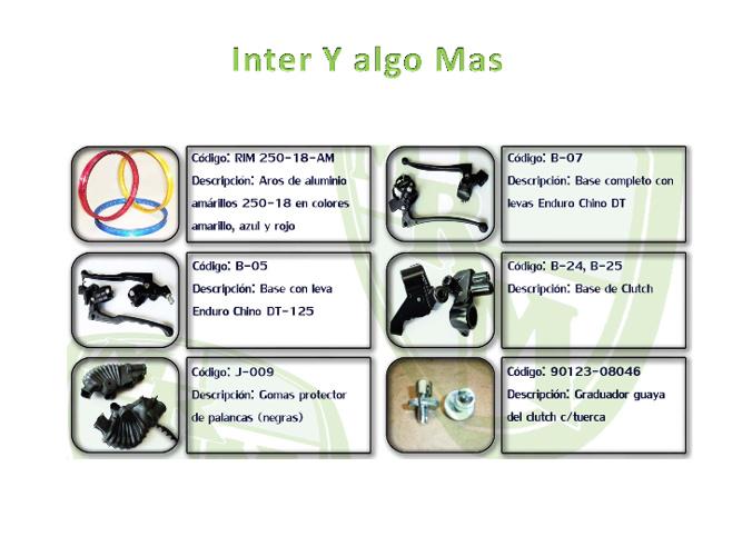 Catálogo Inter Y Algo Más